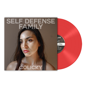 Self Defense Family - Colicky - New Vinyl 2016 Iron Pier / Deathwish Exclusive Limited Edition Translucent Red Vinyl + Download - Post-Hardcore / Indie Rock (FU: Deathwish section)