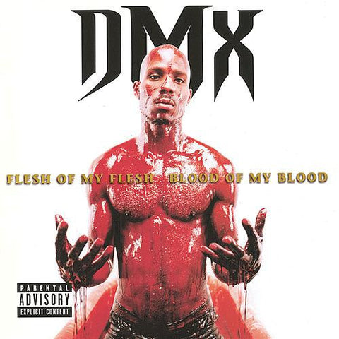 DMX ‎– Flesh Of My Flesh Blood Of My Blood (1998) - New 2 Lp Record 2013 Ruff Ryders USA Blood Splatter Vinyl - Rap / Hip Hop