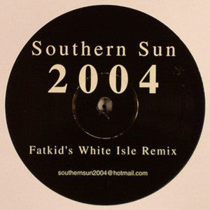 "Paul Oakenfold ‎– Southern Sun 2004 - Mint 12"" Single 2004 UK Import - Trance"