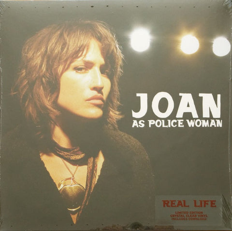 Joan As Police Woman - Real Life - New 2019 Record LP Limited Edition Crystal Clear Vinyl - Indie / Acoustic / Alt Rock