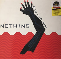 "Nothing - Blue Line Baby - New Vinyl 2018 Relapse RSD Black Friday Single-Sided 12"" Exclusive on White Vinyl with Red Silk-Screened  B-Side (Limited to 2000!) - Grunge / Shoegaze"