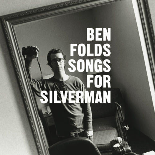 Ben Folds - Songs for Silverman - New Vinyl 2017 Concord Music Limited Edition Gatefold 180gram Translucent Clear Reissue (LTD to 500) - Power Pop / Alt-Rock