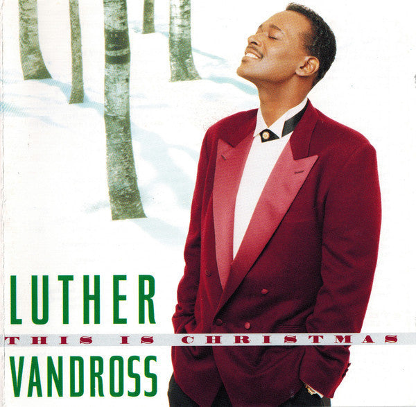 Luther Vandross - This Is Christmas (1995)  - New Vinyl 2016 Epic Records Reissue - Soul / Christmas