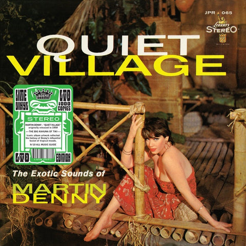 Martin Denny ‎– Quiet Village - The Exotic Sounds Of Martin Denny (1959) - New Lp Record 2020 Jackpot USA Lime Green Vinyl - Exotica / Jazz / Tiki / Pacific