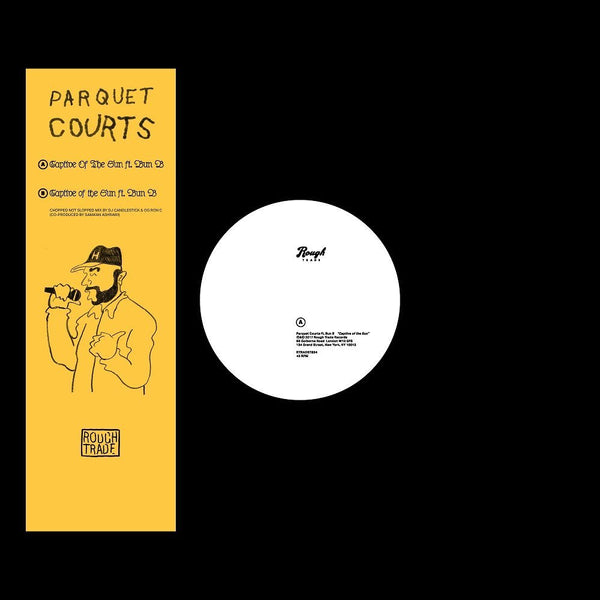 "Parquet Courts - Captive of the Sun feat. Bun B - New Vinyl Record 2017 Rough Trade 12"" Single, Limited Edition of 550! - Post-Punk / Indie Rock / Garage"