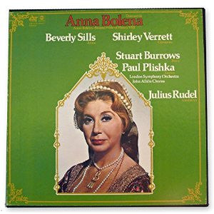 Julius Rudel & Beverly Sills, Shirley Verrett With The London Symphony Orchestra - Donizetti : Anna Bolena - New Vinyl Record 1973 (Original Press) Stereo 4 Lp Box Set USA - Classical/Opera