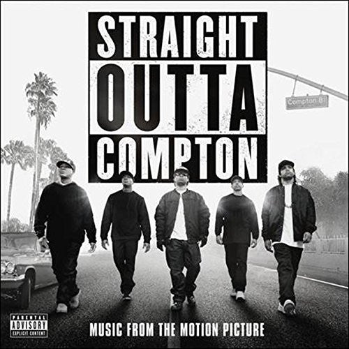 Various ‎– Straight Outta Compton (Music From The Motion Picture) - New 2 Lp Record 2016 USA Vinyl - Soundtrack