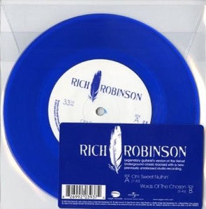 "Rich Robinson - Oh! Sweet Nuthin' - New 7"" Single Record Store Day Black Friday 2015 Eagle USA RSD Blue Vinyl - Rock"