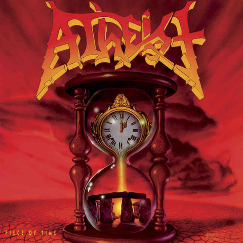 Atheist ‎– Piece Of Time (1989) - New Vinyl Record 2017 Season of Mist Deluxe 45RM Reissue on 'Ultra Clear' Vinyl (Limited to 200 Worldwide!) - Death Metal