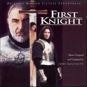 Jerry Goldsmith ‎– First Knight - Used Cassette 1995 Epic - Soundtrack