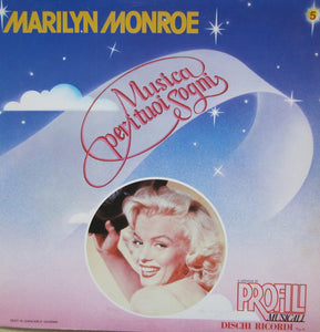 Marilyn Monroe ‎– Marilyn Monroe - VG+ 1982 Italy Import Original Press (With Book) - Soundtrack / Pop