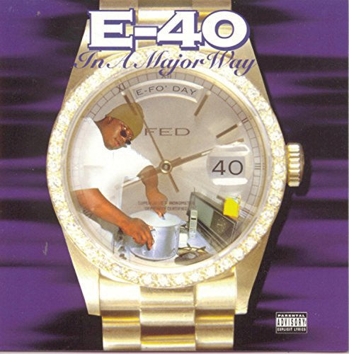 E-40 ‎– In A Major Way (1995) - New Vinyl 2017 Jive 2-LP Reissue with Download - Rap / Hip Hop