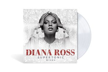 Diana Ross - Supertonic: Mixes - New LP Record 2020 Motown US Clear Vinyl - Dance / Disco