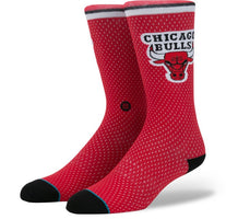 Stance Socks - Bulls Jersey (Red) - Men's size 9-12