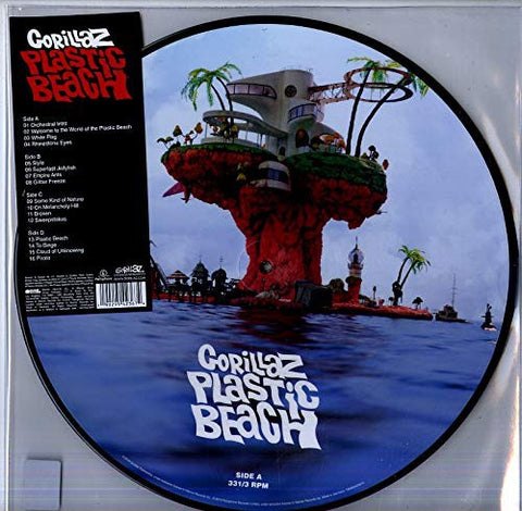 Gorillaz ‎– Plastic Beach - New LP Record 2019 Picture Disc Reissue - Pop / Hip Hop / Electronic