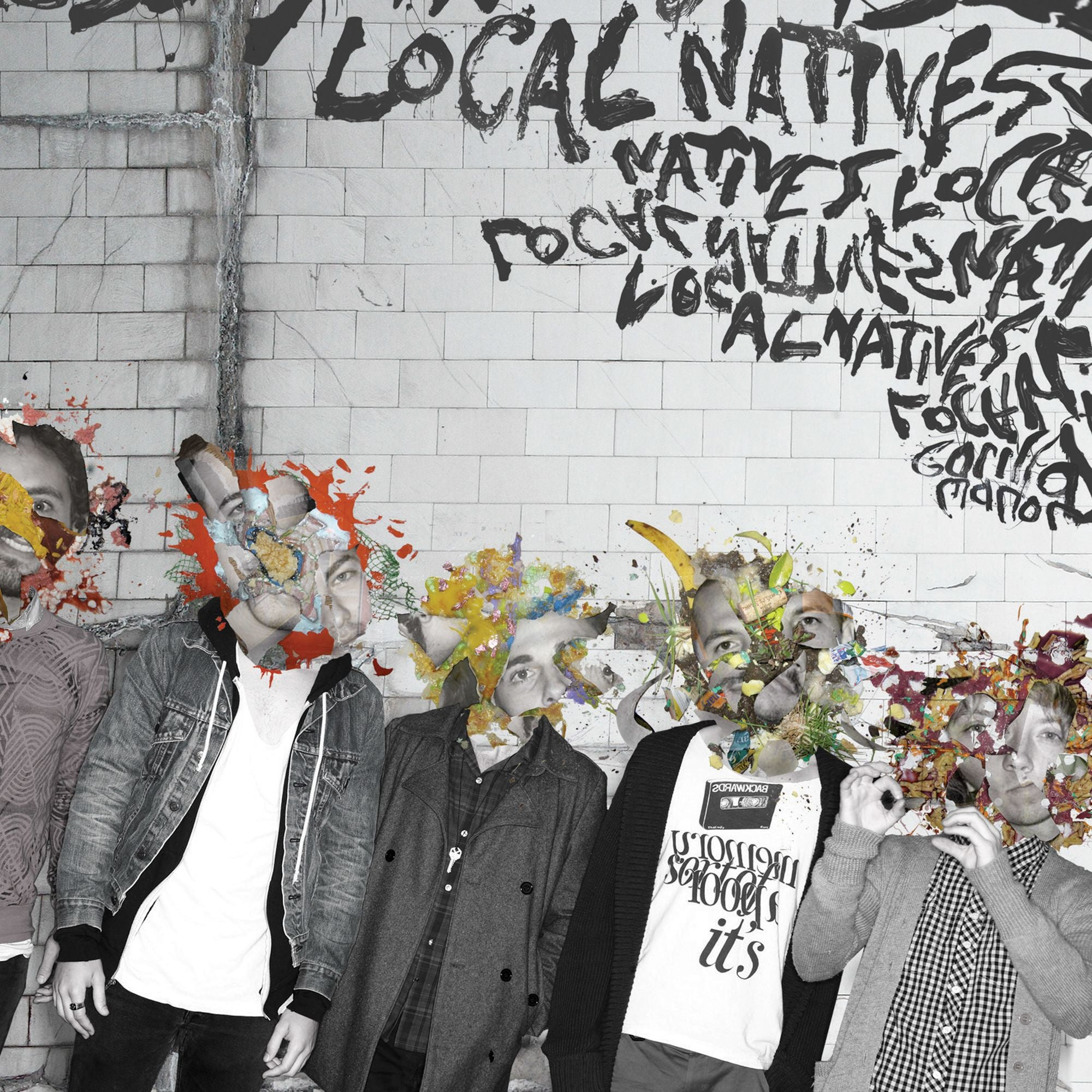 Local Natives ‎– Gorilla Manor - New Vinyl Lp 2018 Frenchkiss Limited Edition 'Ten Bands One Cause' Pressing on Pink Vinyl - Indie Rock