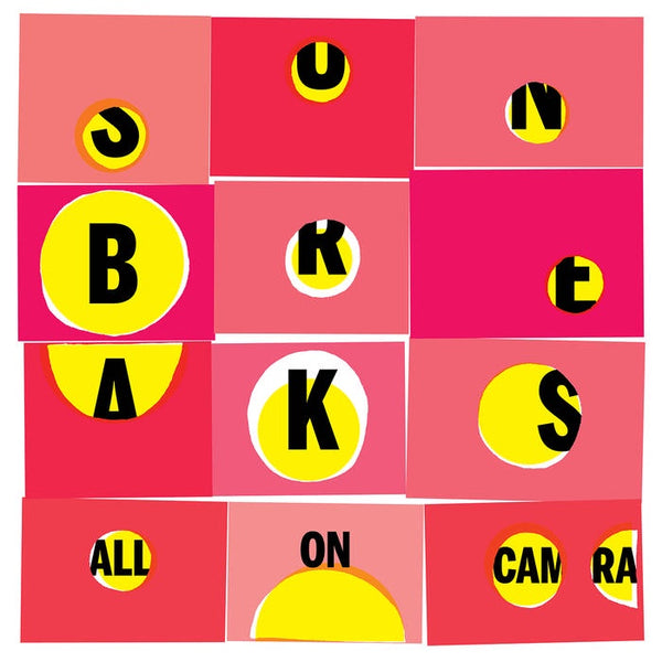 Sun Breaks - All On Camera - New Vinyl Lp 2018 Suicide Squeeze Pressing on 'Electric Blue' Colored Vinyl with Download (Limited to 500!) - Synth / Indie Rock / Dub