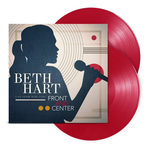 Beth Hart - Front and Center - New 2 Lp 2019 Provogue RSD First Release on Red Vinyl - Blues