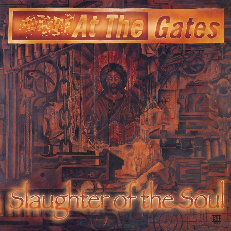At The Gates - Slaughter Of The Soul (1995) - New Vinyl 2018 Earache  Records Metal Matters Limited Edition FDR Reissue (Pressed from Original  Tapes)