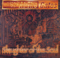 At The Gates - Slaughter Of The Soul (1995) - New Vinyl 2018 Earache Records Metal Matters Limited Edition FDR Reissue (Pressed from Original Tapes) Red Vinyl  - Metal / Thrash