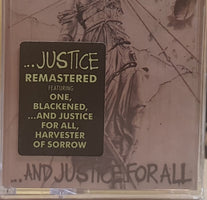 Metallica ‎– ...And Justice For All - New Cassette 2018 Blackened Recordings Limited Edition Remastered Tape - Speed Metal / Thrash