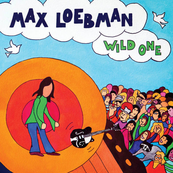 Max Loebman - Wild One - New Limited Edition Brian Berry Cough Colored Vinyl Record 2017 Shuga Records Exclusive - 35 Numbered - Chicago Rock N Roll