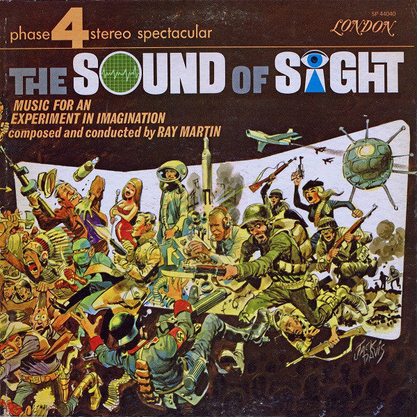 Ray Martin - The Sound Of Sight - VG+ 1964 Stereo (UK Import) - Jazz/Theme/Space-Age