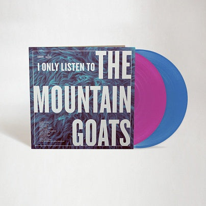 (PRE-ORDER) Various Artists - I Only Listen to the Mountain Goats: All Hail West Texas - New Vinyl 2018 Merge Records Limited Edition Pressing on Pink and Blue Vinyl with Patch & Download