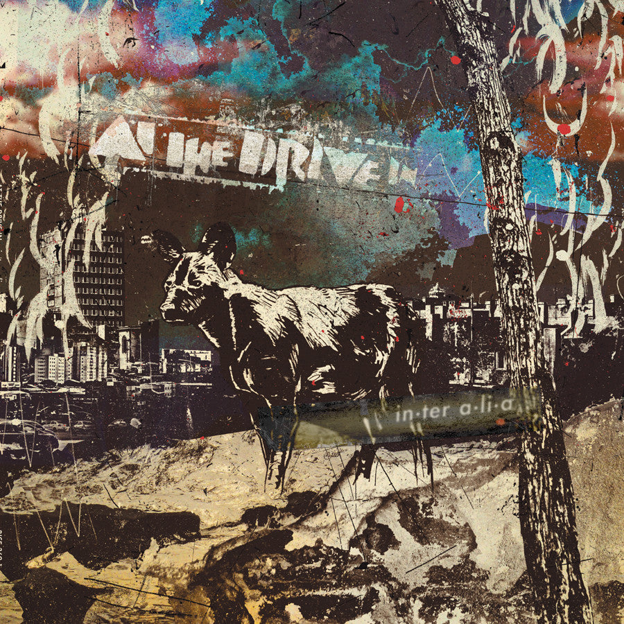 Image result for at the drive in new vinyl art