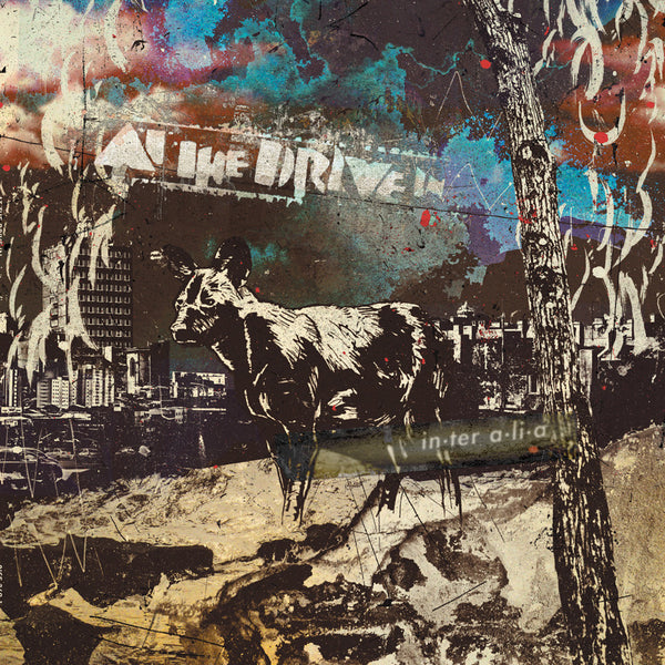 At The Drive-In - in•ter a•li•a / Inter Alia - New Vinyl Record 2017 Rise Records Limited Edition Deep Purple w/ Grimace Splatter Vinyl with Download - Post-Punk / Post-Hardcore / Art-Punk