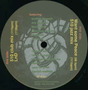 "J Mage ‎– Crazy Heart - Mint 12"" Single Record 2002 Czech Republic Listen Labs Vinyl - Breaks / Acid Jazz"