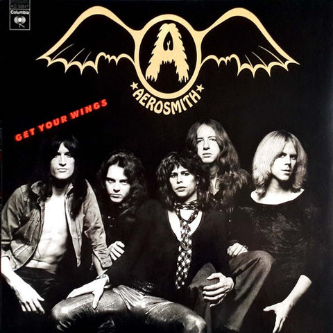 Aerosmith ‎– Get Your Wings (1974) - New Vinyl Record 2013 Columbia 180Gram Audiophile Reissue - Rock