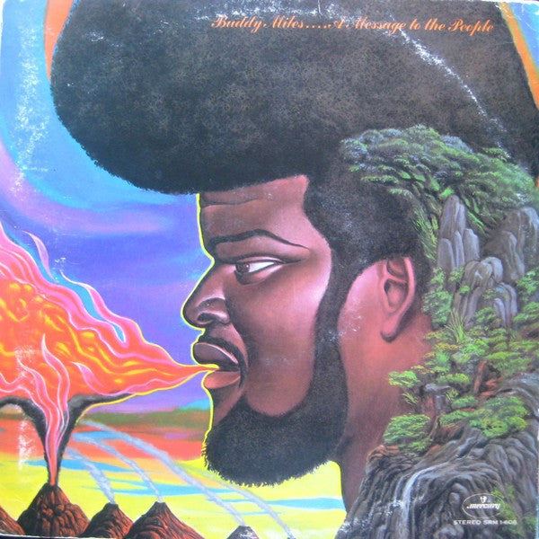 Buddy Miles ‎– A Message To The People - VG+ 1970 Stereo Original Press - Psychedelic Rock / Blues