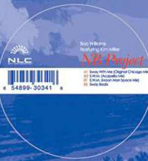 "Boo Williams ‎– NB Project - Mint- 12"" Single USA 2002 - Chicago House"