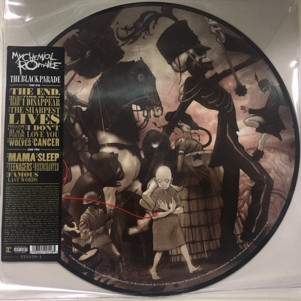 My Chemical Romance ‎– The Black Parade (2006) - New Lp Record 2018 Reprise Picture Disc Vinyl - Rock / Emo / Punk