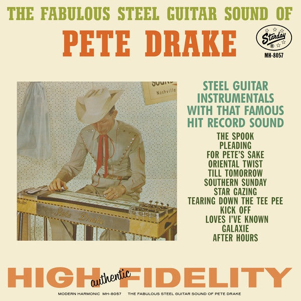 Pete Drake ‎– The Fabulous Steel Guitar Sound (1962) - New LP Record 2018 Modern Harmonic USA Red Vinyl - Country