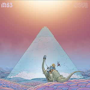 M83 - DSVII - New 2 Lp Record 2019 Mute USA Pink Candy Floss Vinyl - Pop Electronic / Ambient / Electro