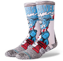 Stance Socks - Captain America Comic - Men's size 9-12