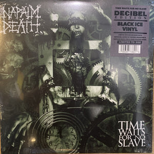 Napalm Death ‎– Time Waits For No Slave (2009) - New LP Record 2020 Decibel Edition Black Ice Vinyl - Grindcore