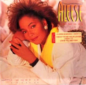 Aleese Simmons ‎- I Want It - Mint- Stereo 1988 USA - Funk / Soul / R&B