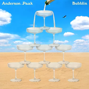 "Anderson .Paak - Bubblin' - New 7"" Single RSD 2019 Record Store Day Cream Color Vinyl - Hip Hop"