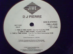 "DJ Pierre - Time & Time Again - VG+ 12"" Single USA - Chicago Acid House"