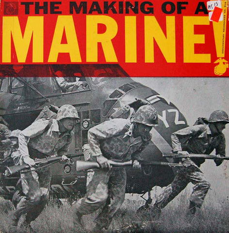 George Casey ‎– The Making Of A Marine! VG Documentary Recordings Pressing in Gatefold Jacket - Field Recording / Spoken Word