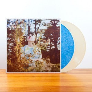 Hazel English - Just Give In / Never Going Home (Expanded Double EP) - New  Vinyl Record 2017 Polyvinyl 180Gram Pressing on Blue & Yellow Vinyl with
