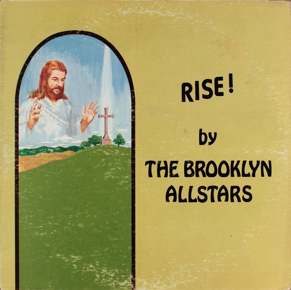 The Brooklyn Allstars ‎– Rise! - VG+ Lp Record USA Original Vinyl - Soul / Gospel