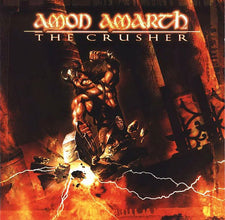 Amon Amarth ‎– The Crusher (2001) - New Vinyl 2017 Metal Blade 180Gram 'Ultimate Vinyl Edition' with Lyric Sheet and 2-Sided Poster - Death / Viking Metal