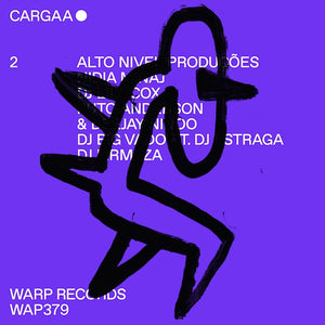 Various ‎– Cargaa 2 - New EP Record 2015 Warp UK Vinyl - Electronic / Portuguese Dance Music