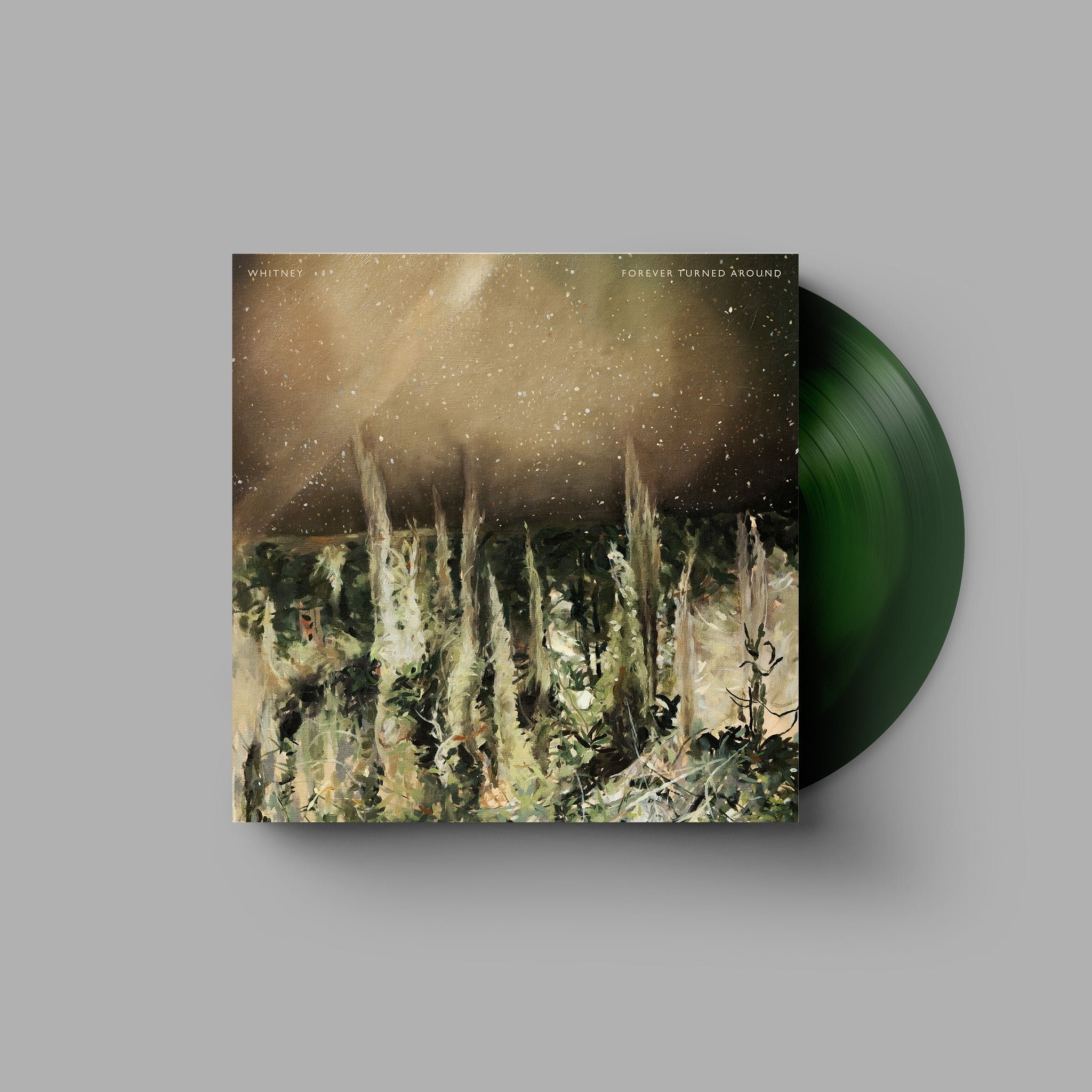 Whitney - Forever Turned Around FTA - New Lp Record 2019 USA Secretly Canadian Chicago Exclusive Dual Green Vinyl & Download - Indie Rock