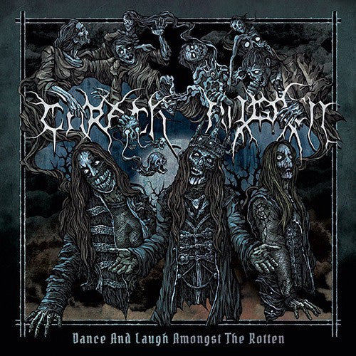 Carach Angren ‎– Dance And Laugh Amongst The Rotten - New Vinyl 2017 Season Of Mist Gatefold 2-LP Pressing (45rpm) with Lyric Insert, Limited to 500 Worldwide! - Black Metal