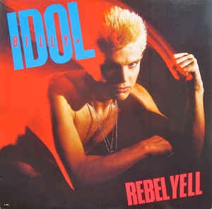 Billy Idol - Rebel Yell (1983) - New Lp Record 2018 Capitol Urban Outfitters Exclusive Translucent Red Vinyl - Rock